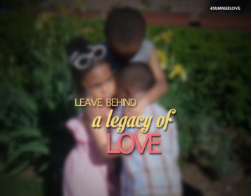 Love is our Greatest Legacy
