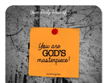 You Are God's Masterpiece