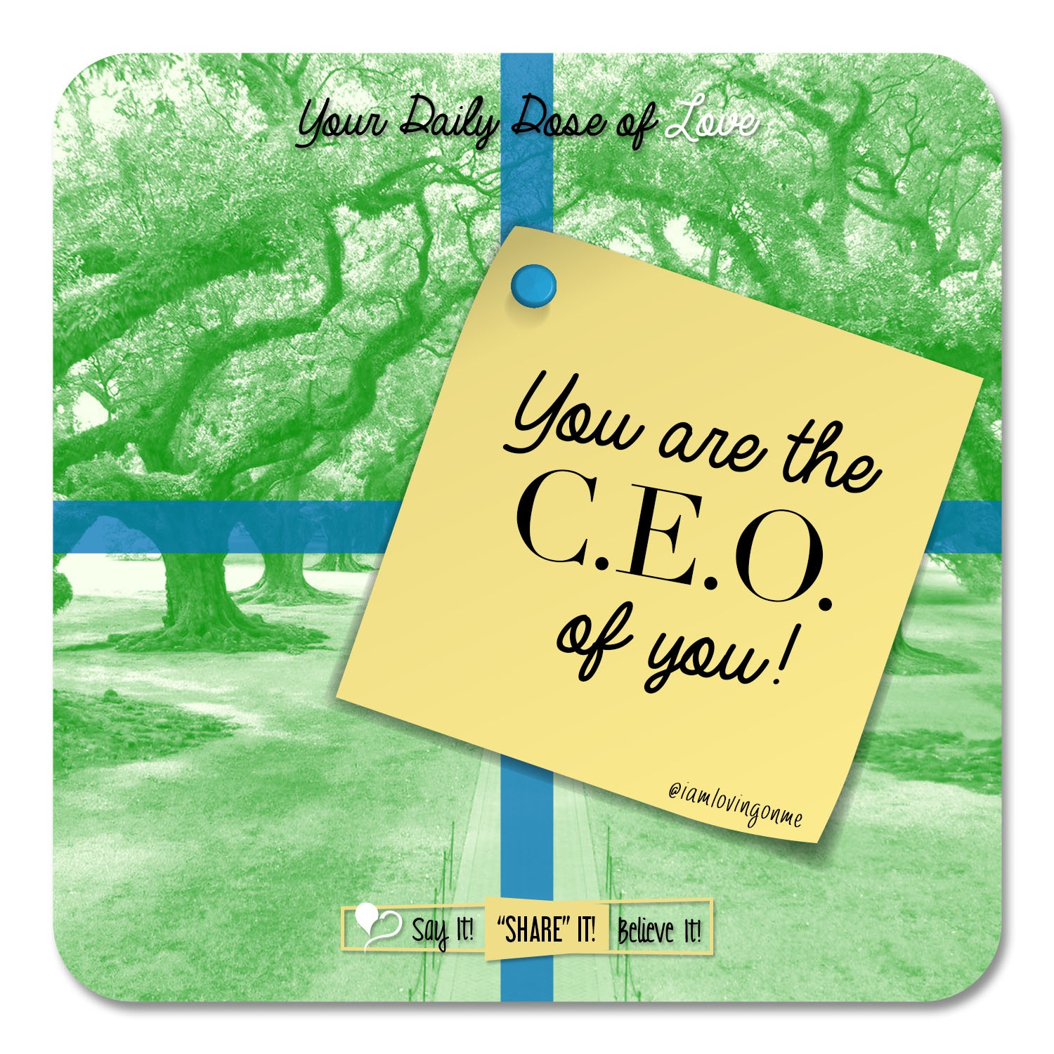 CEO of You