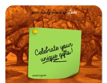 Celebrate What's Unique About You!