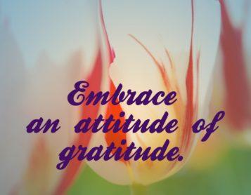 Loving on Me Inspiration – Embrace Gratefulness