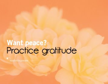 Loving on Me Inspiration – Practice Gratitude