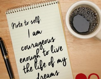 Note to Self: I Am Courageous