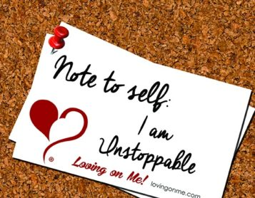 Note to Self: I am Unstoppable